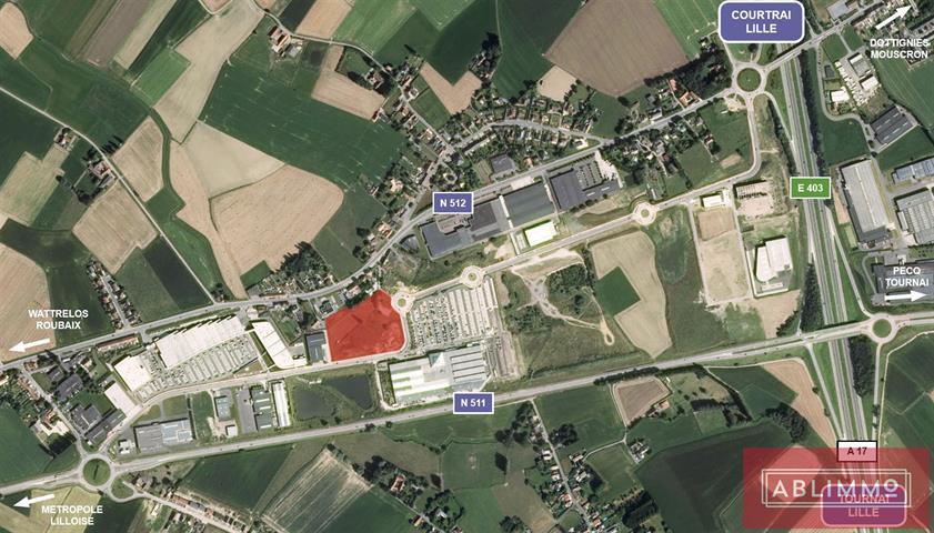 commercieel centrum te Estaimpuis
