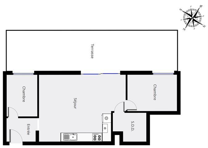 Gelijkvloerse verdieping - Schaerbeek - #4155883-1