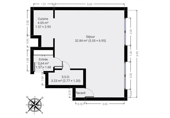 Flat - under offer (sale) - 1030 Schaerbeek