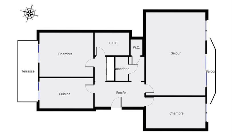 Flat - for rent - 1030 Schaerbeek