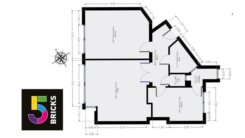 Appartement - Schaerbeek - #4317790-1