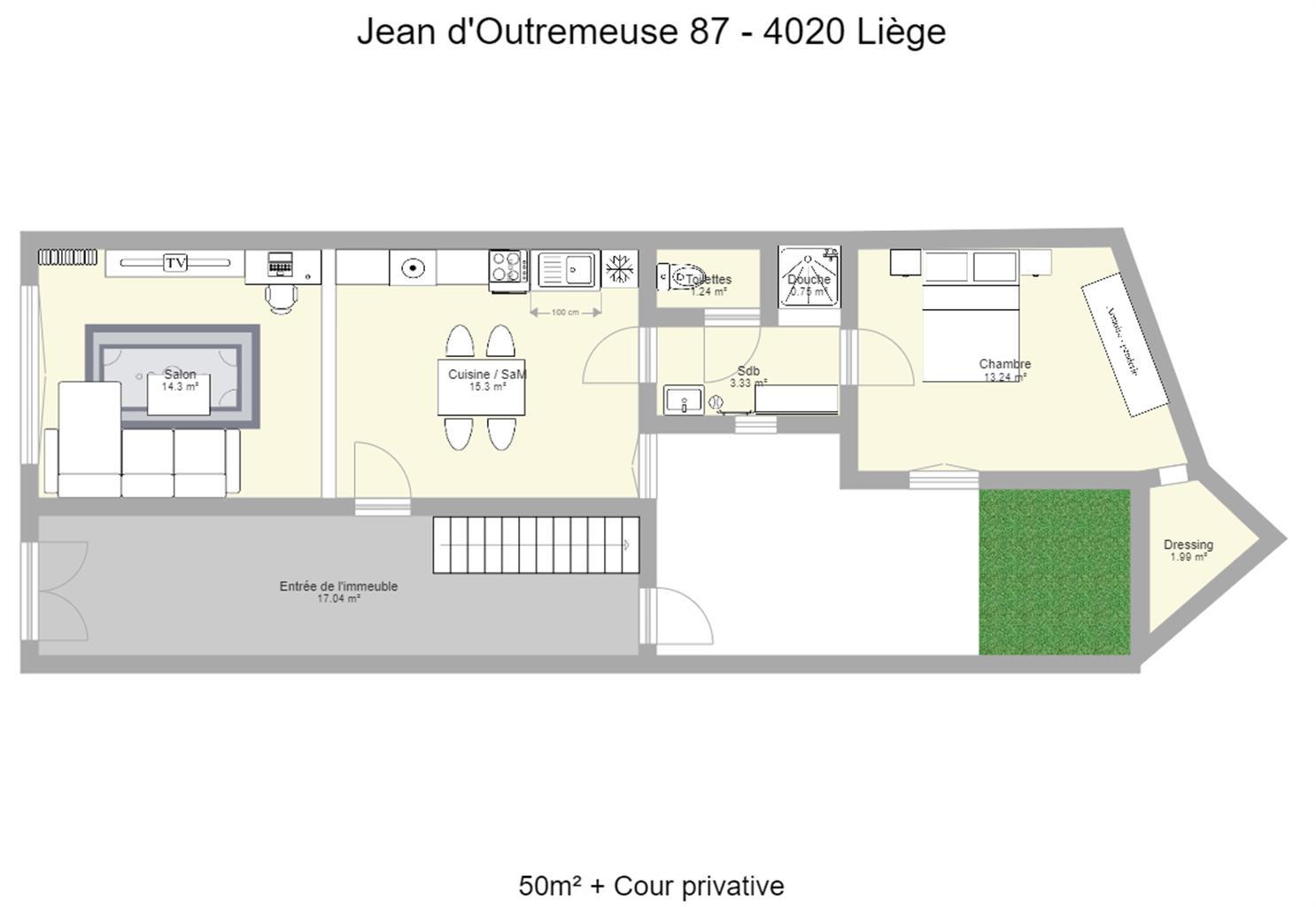 Rez-de-chaussée - Liege - #4143519-9