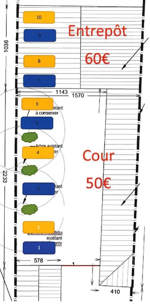 Parking intérieur - Herstal - #4148606-1
