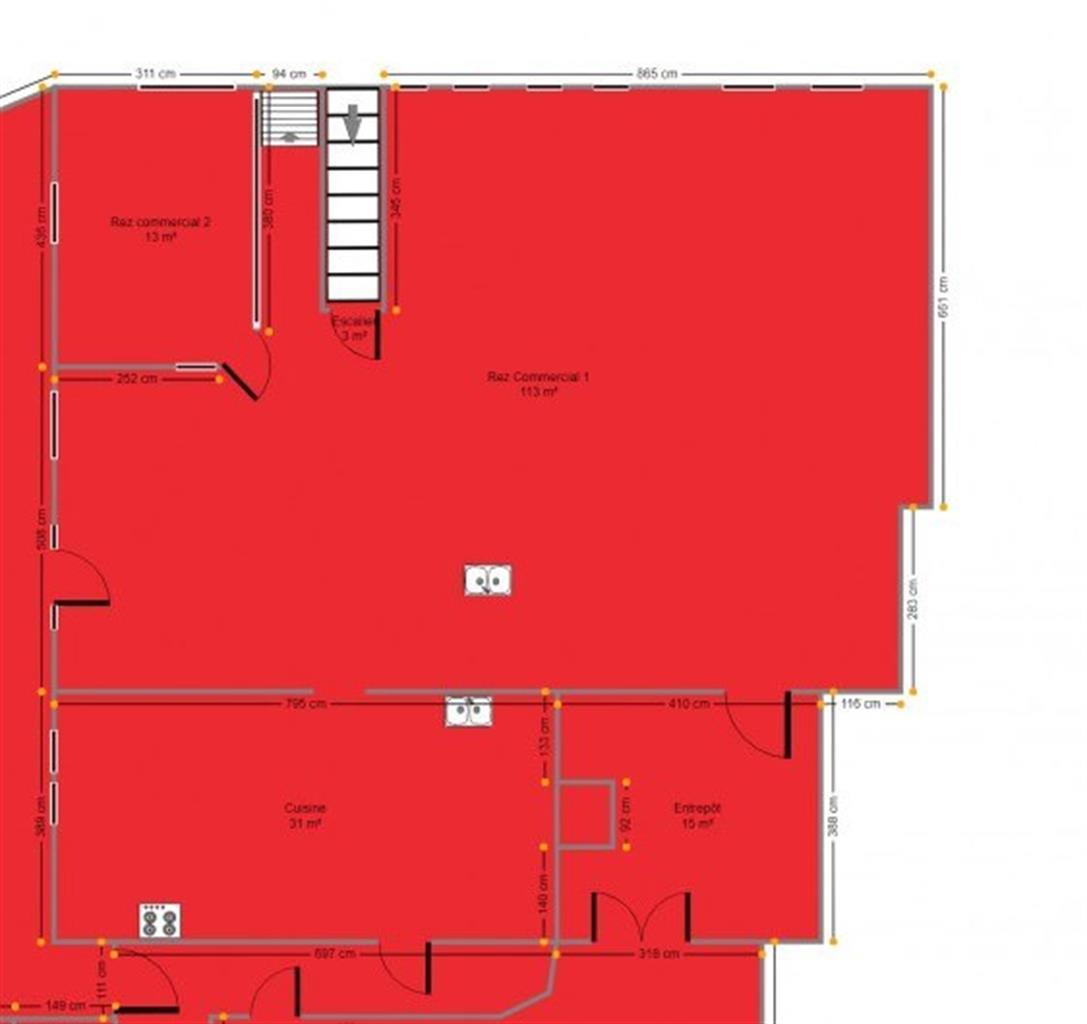 Immeuble commercial - Nandrin - #4257172-6