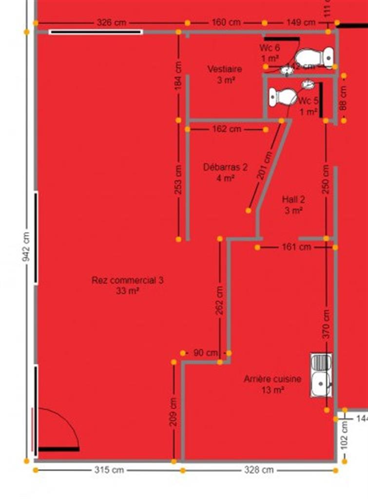 Immeuble commercial - Nandrin - #4272258-6