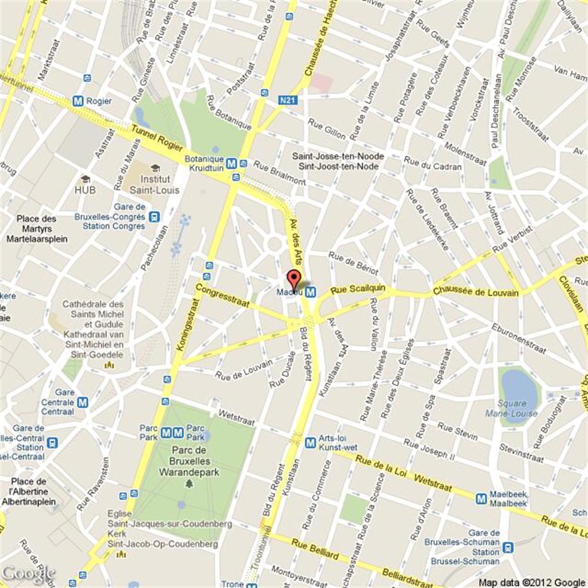 BISCHOFFSHEIM 11 - Bruxelles - #2974548-1