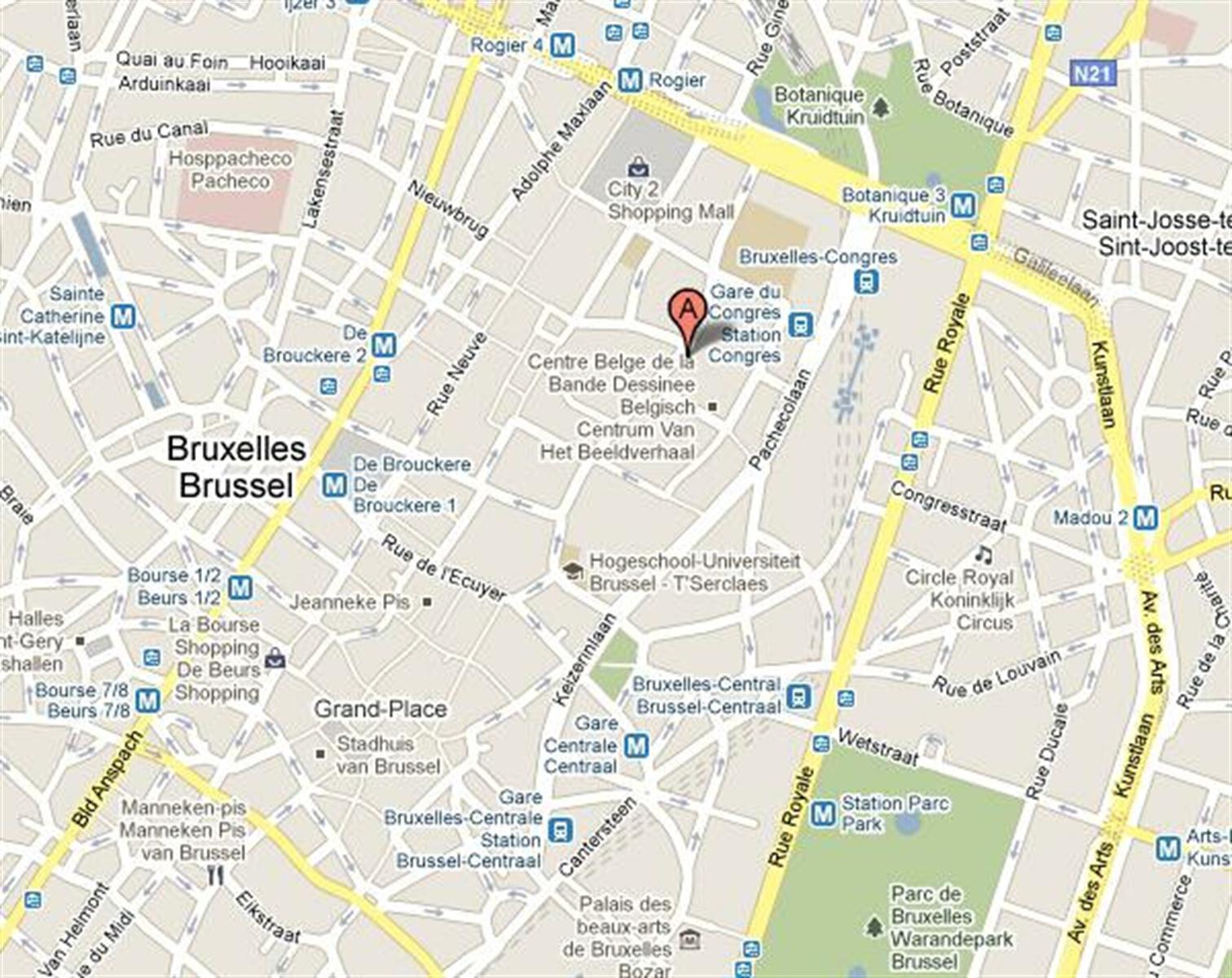 MARAIS 49-55 CENTER HOUSE - Bruxelles - #2974649-1