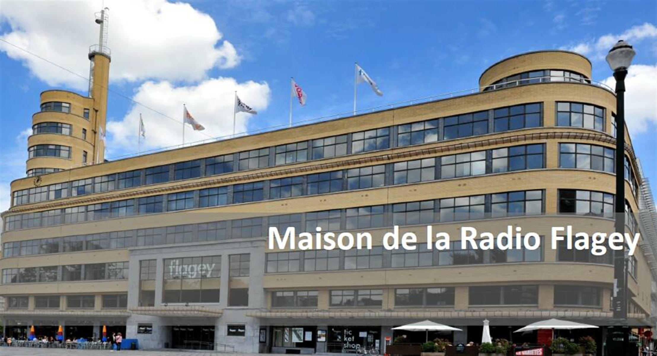 FLAGEY MAISON DE LA RADIO - Ixelles - #2974877-2