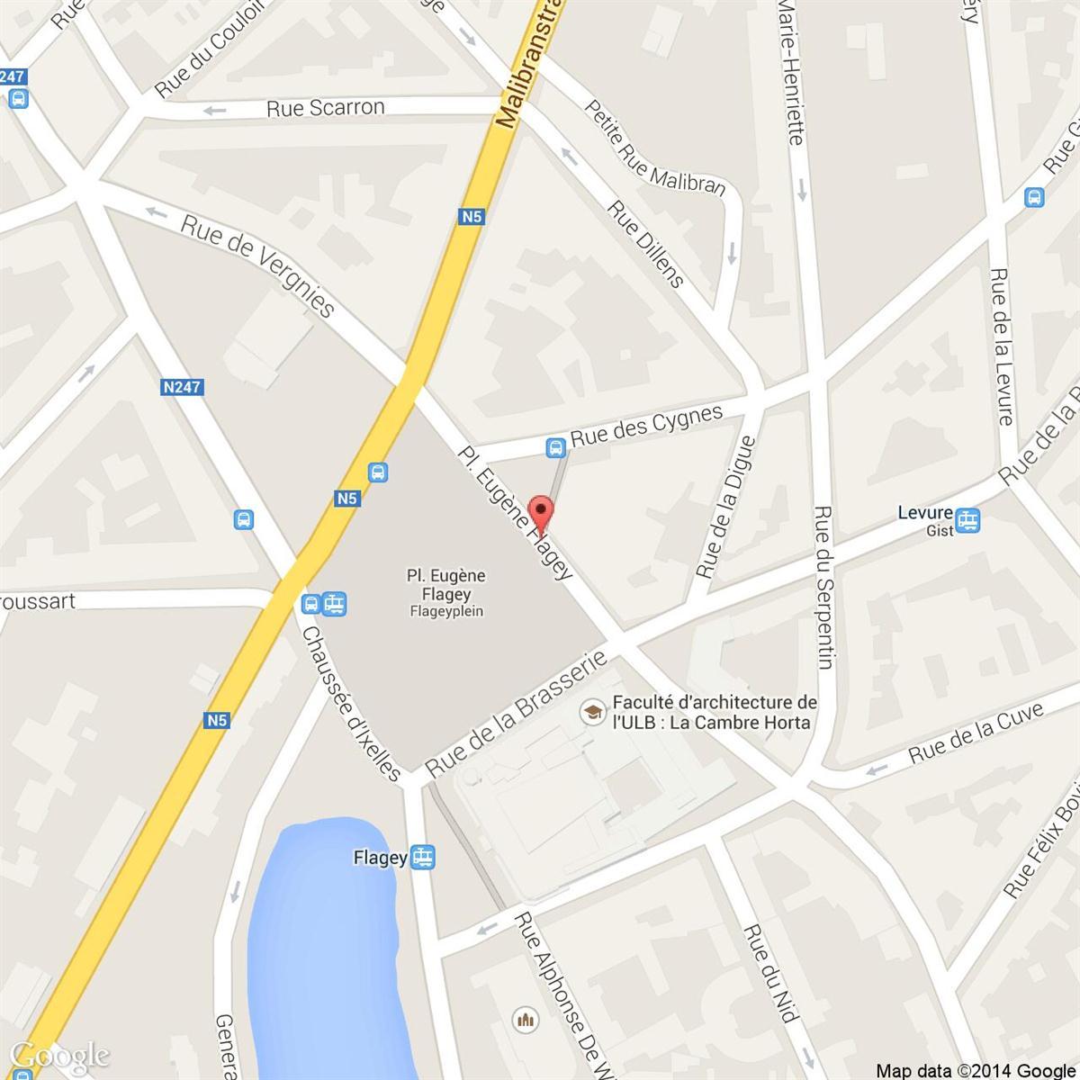 FLAGEY MAISON DE LA RADIO - Ixelles - #2974877-1