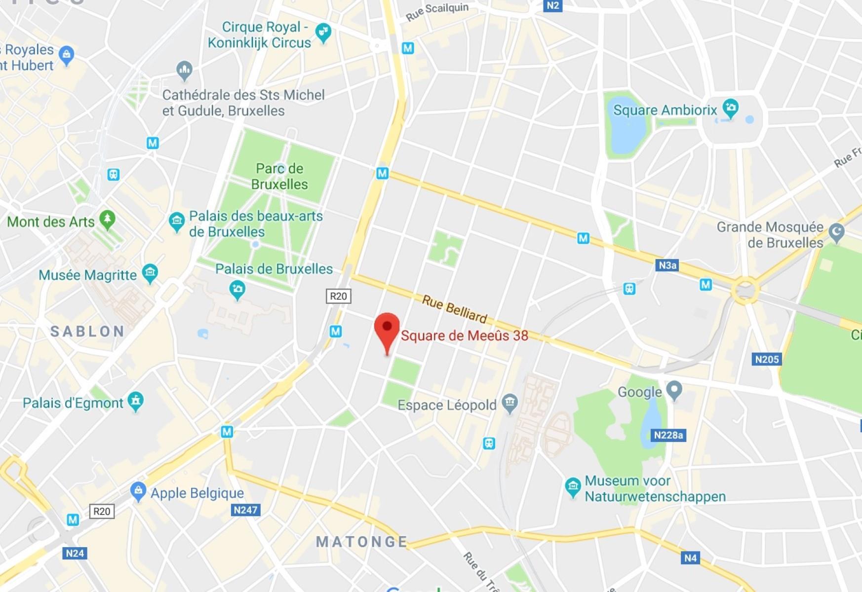 MEEUS 38-40 - Ixelles - #3707546-8