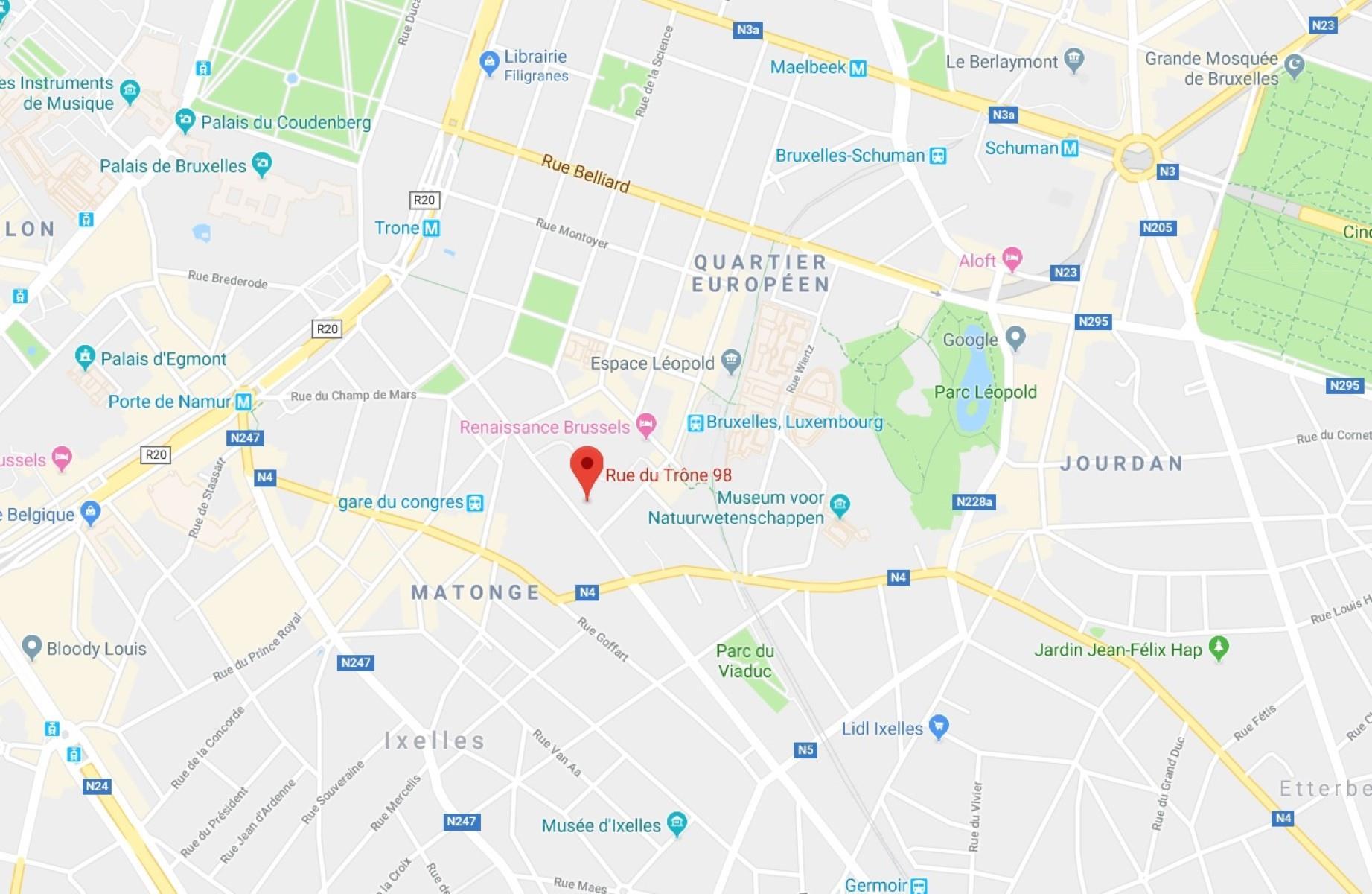 TRÔNE 98 - Ixelles - #3746433-1
