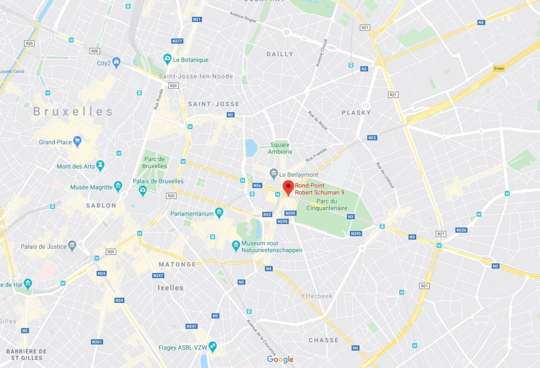 SCHUMAN 9 S - Bruxelles - #3983283-2