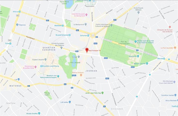 Immeuble de bureaux - Etterbeek - #3983721-1