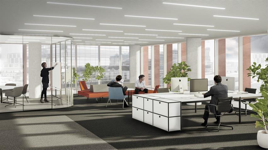 Immeuble de bureaux - Bruxelles - #4117941-2