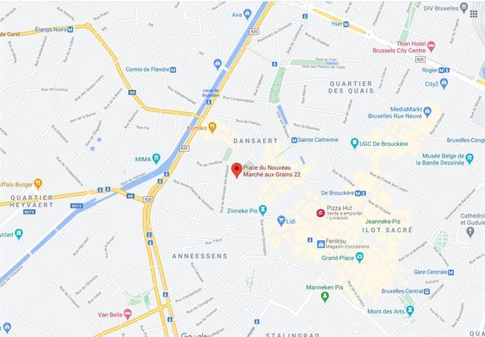 Immeuble de bureaux - Bruxelles - #4163562-8