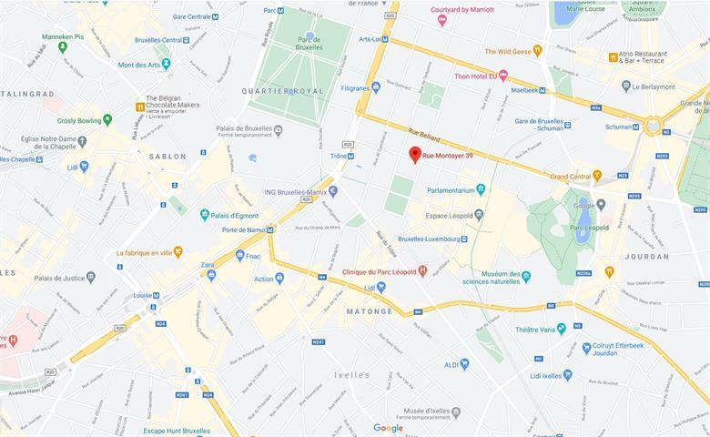 Kantoorgebouw - Bruxelles - #4193858-1