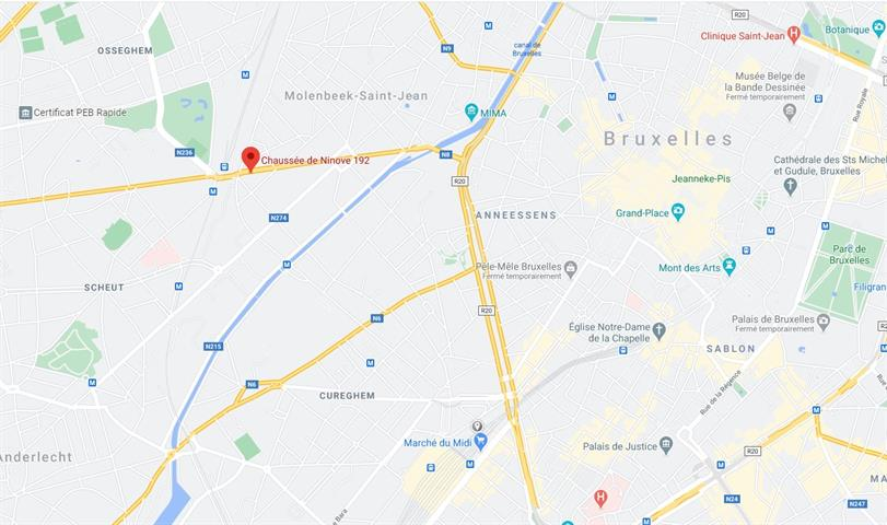 Kantoor - Molenbeek-Saint-Jean - #4202193-1