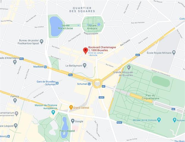 Immeuble de bureaux - Bruxelles - #4271571-2