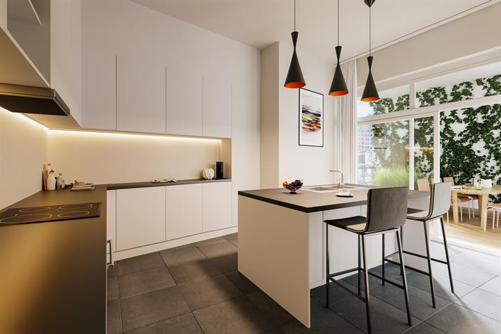 Rez-de-ch. avec jardin - Etterbeek - #4500931-12