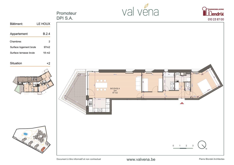 Appartement - Wavre - #3746639-0