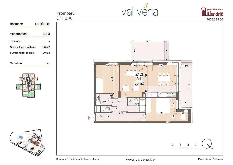 Appartement - Wavre - #3756218-0