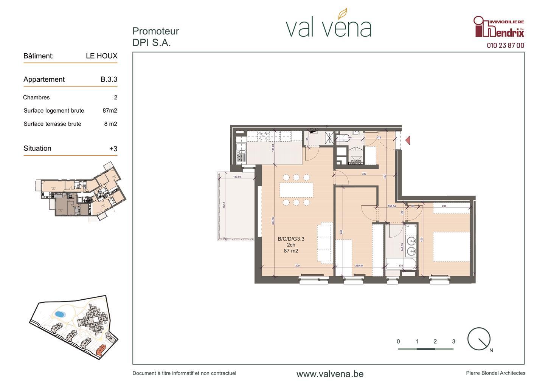 Appartement - Wavre - #3756344-0
