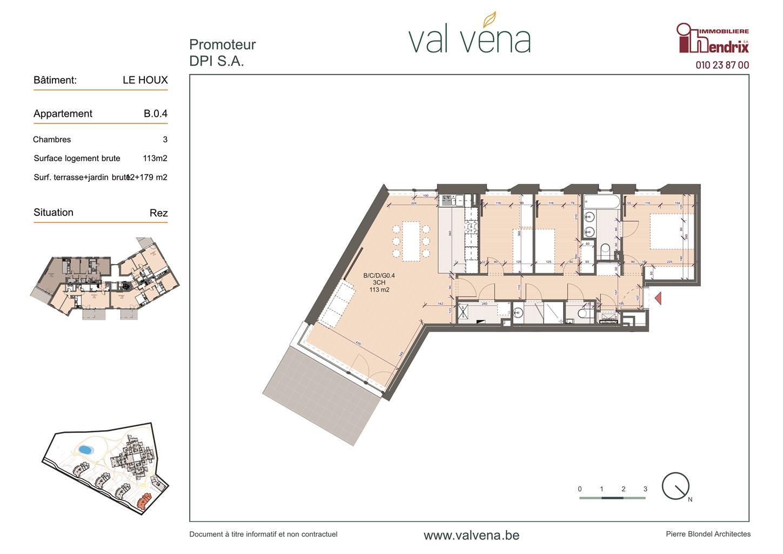 Appartement - Wavre - #3756358-0