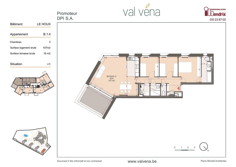 Appartement - Wavre - #3756362-0