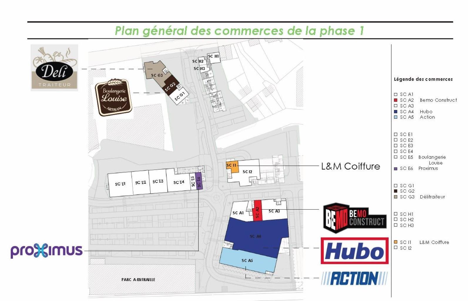 Centre commercial - Court-St.-Etienne - #3919389-6