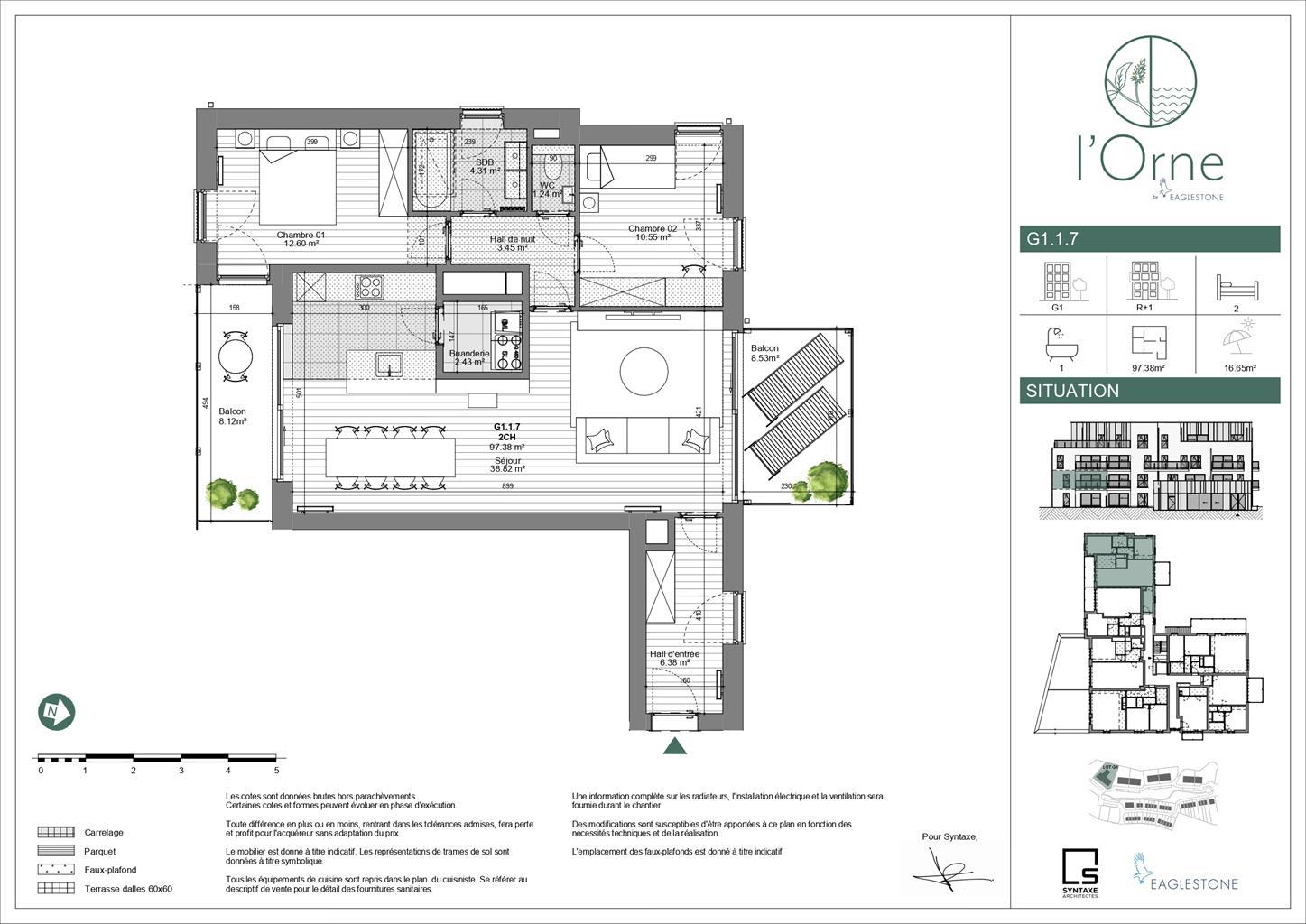Appartement - Mont-Saint-Guibert - #4110423-8