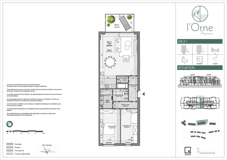 Appartement - Mont-Saint-Guibert - #4270923-1