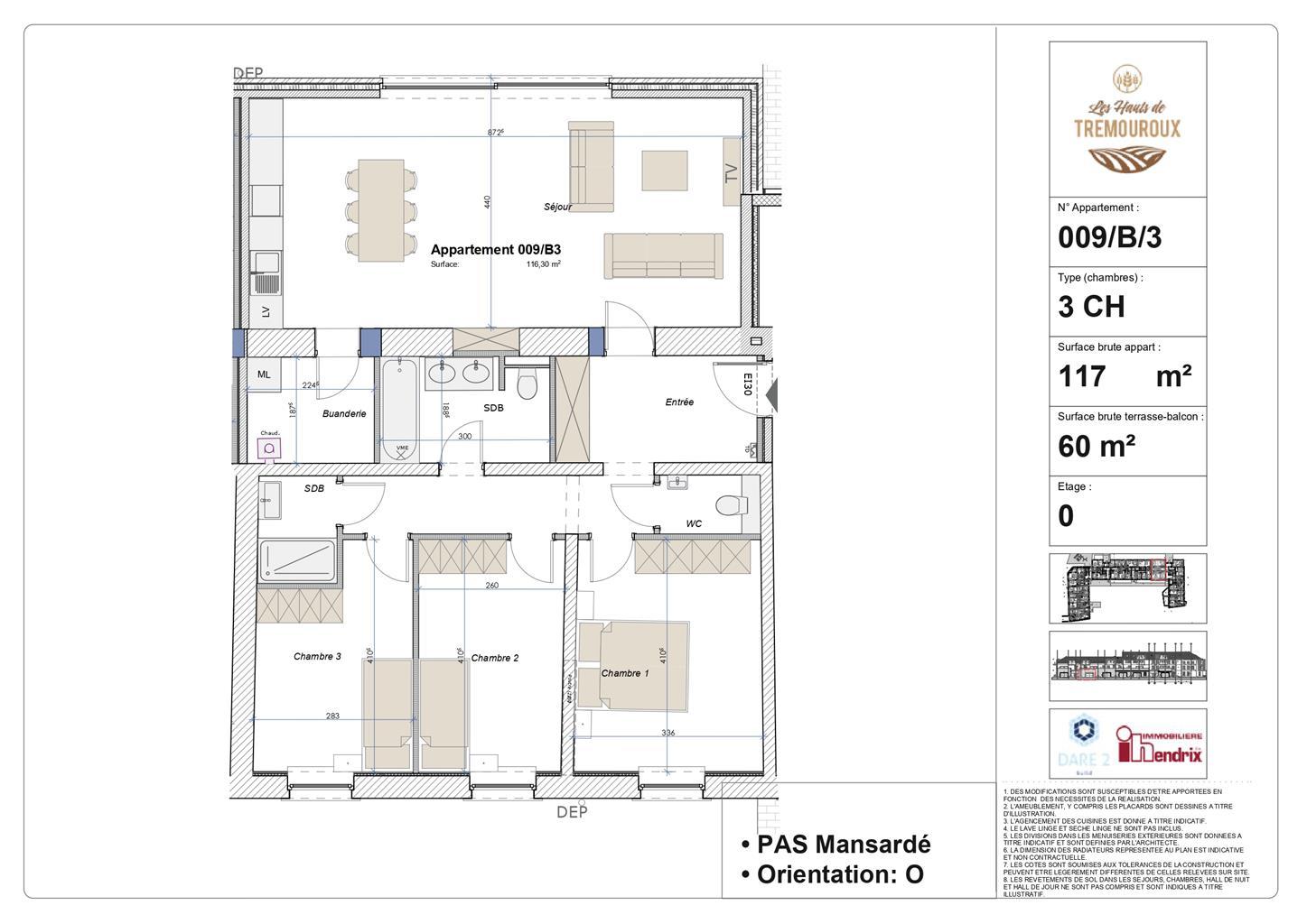 Appartement - Perwez - #4307035-0