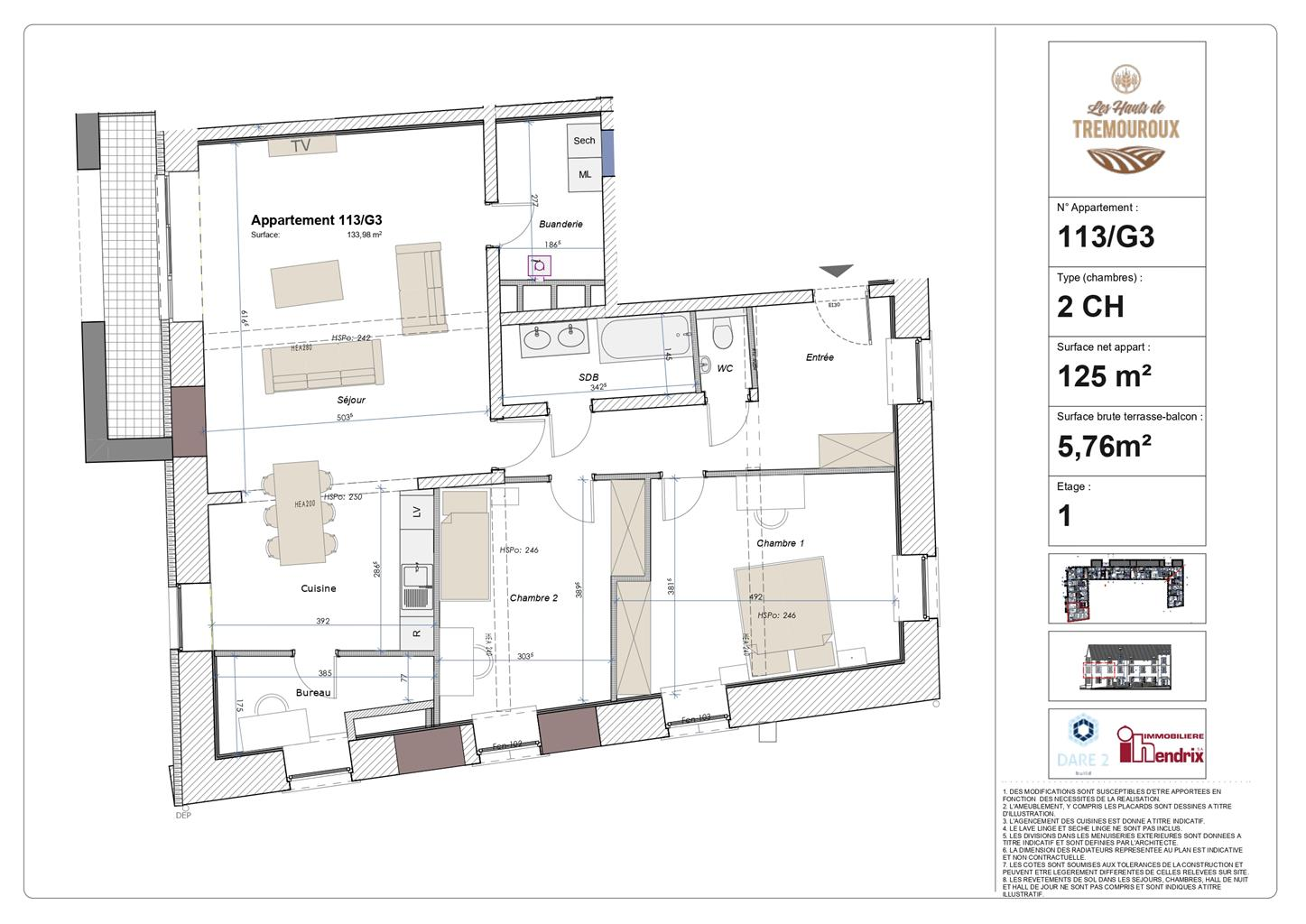 Appartement - Perwez - #4307115-0