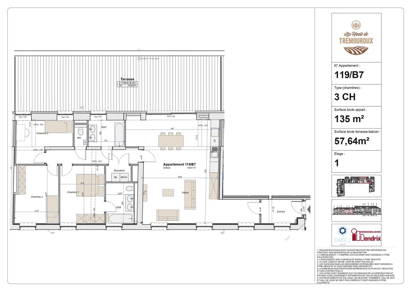 Appartement - Perwez - #4307231-0