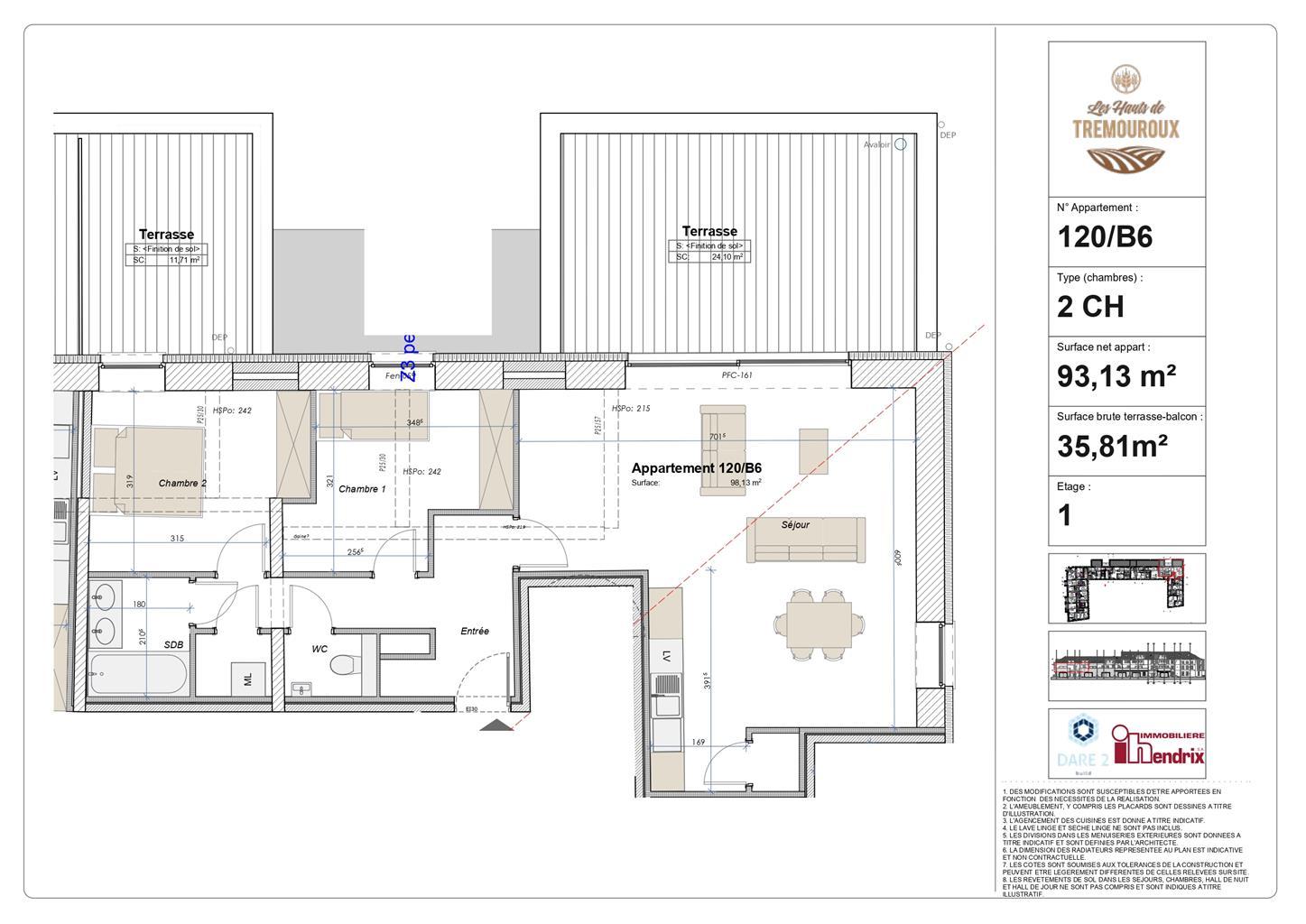 Appartement - Perwez - #4307239-0