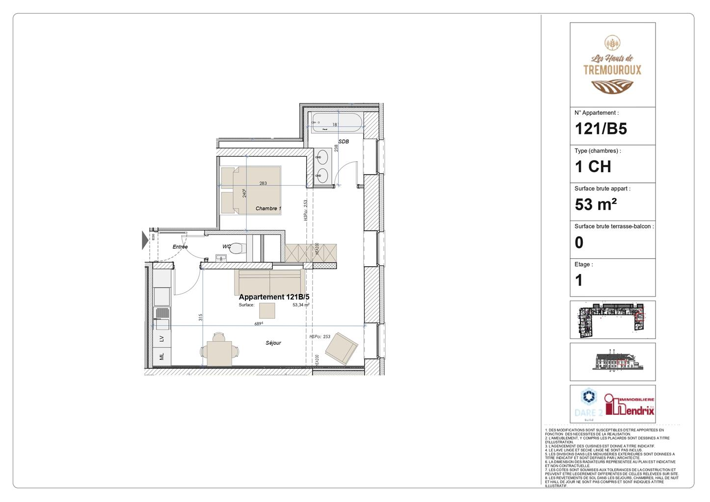Appartement - Perwez - #4308023-0