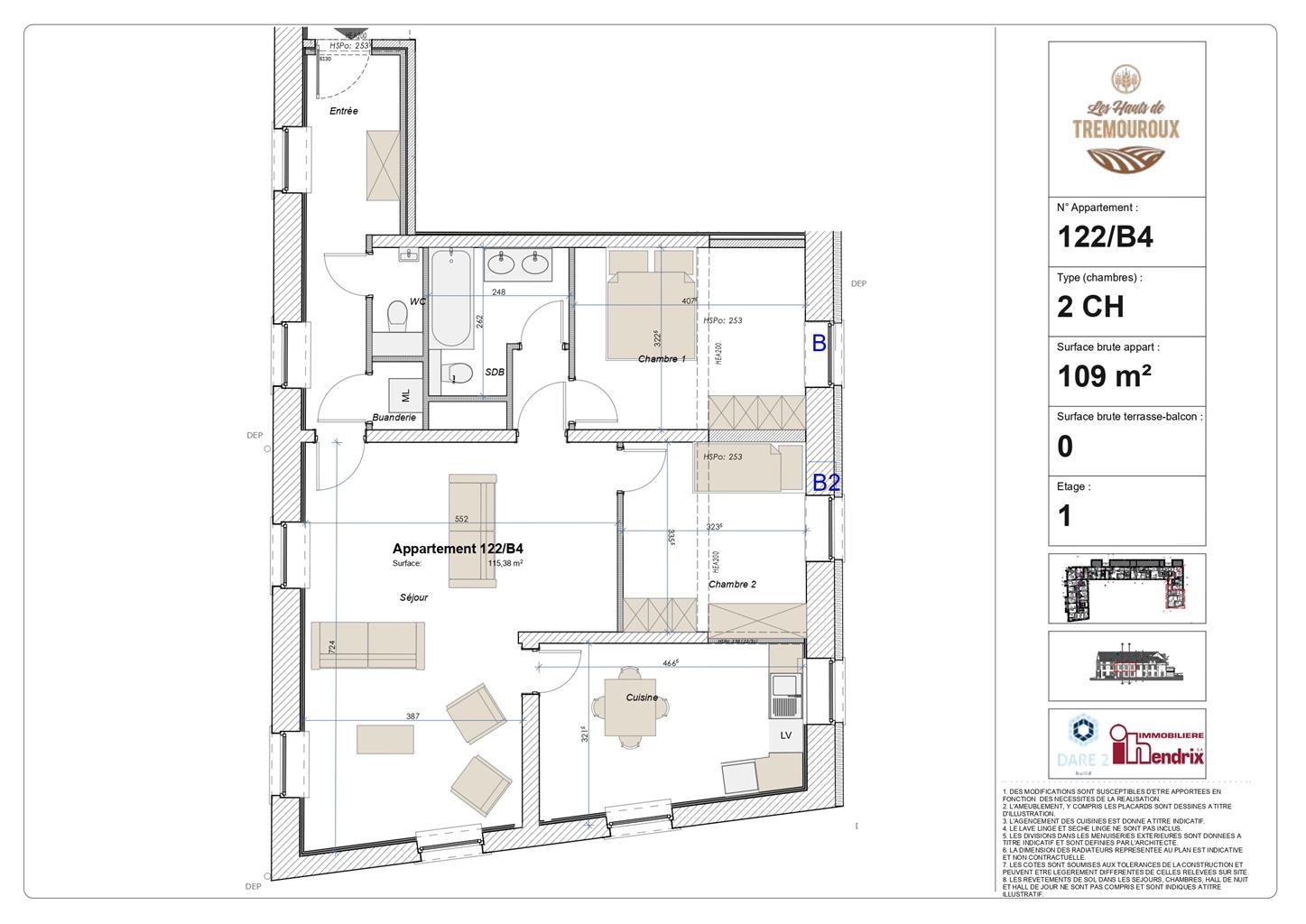 Appartement - Perwez - #4308098-1
