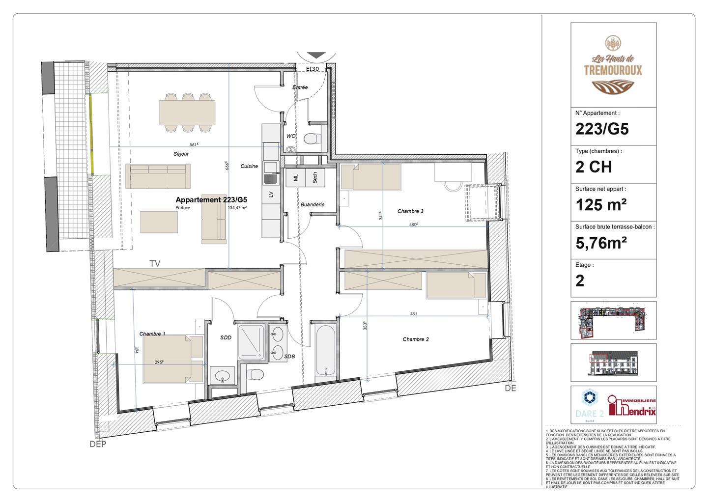 Appartement - Perwez - #4308128-1