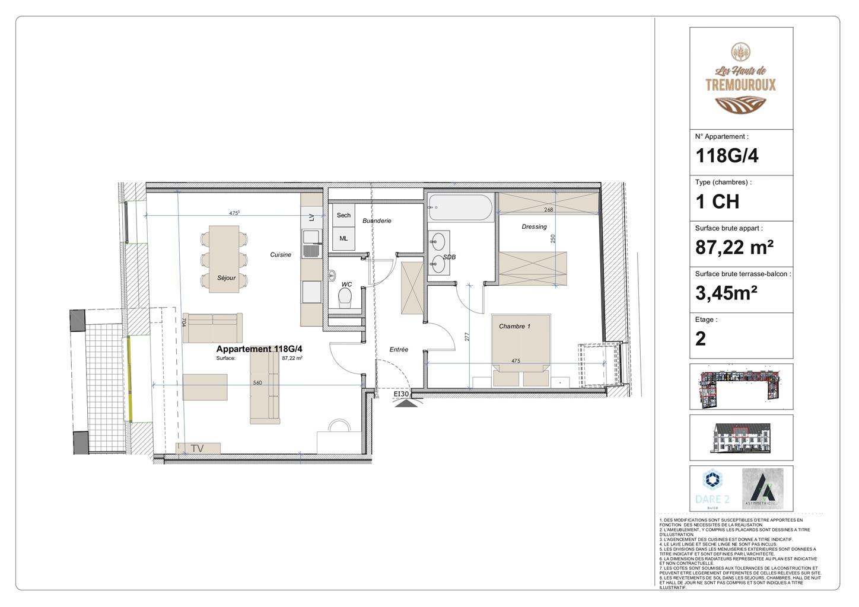 Appartement - Perwez - #4308139-0