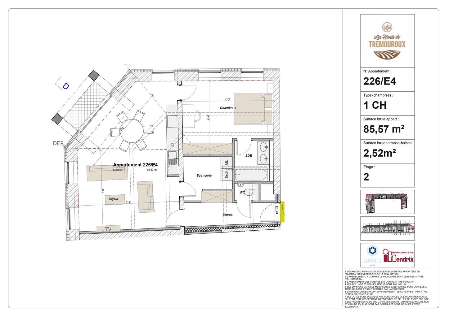 Appartement - Perwez - #4308156-1