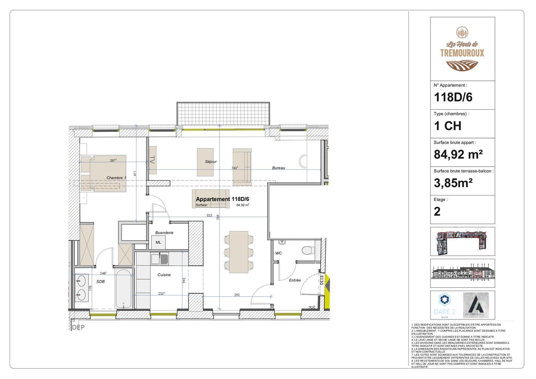 Appartement - Perwez - #4308159-0
