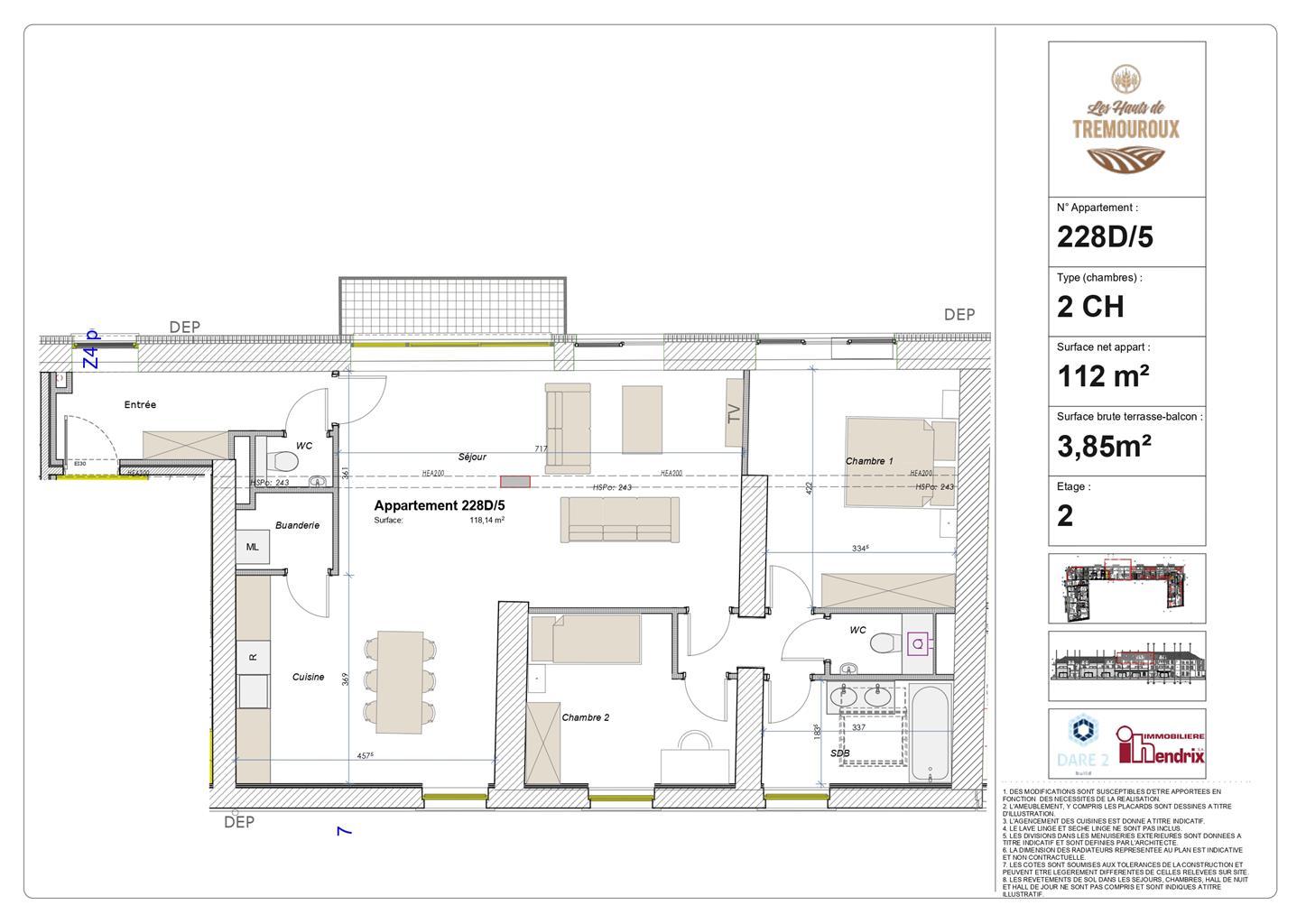 Appartement - Perwez - #4308164-0