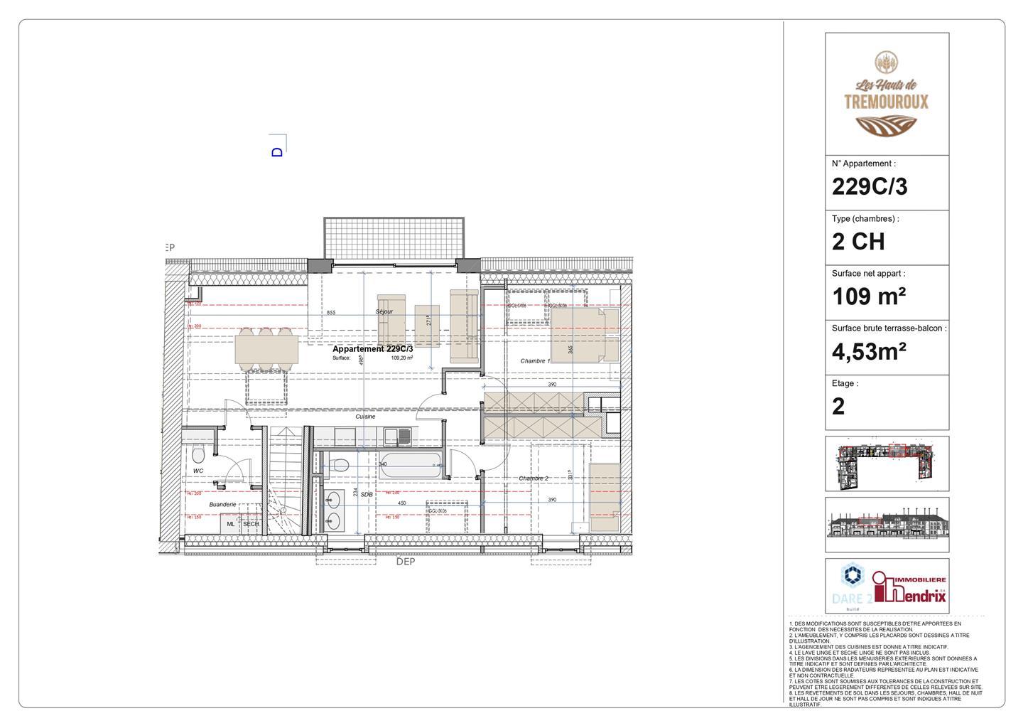 Appartement - Perwez - #4308172-0