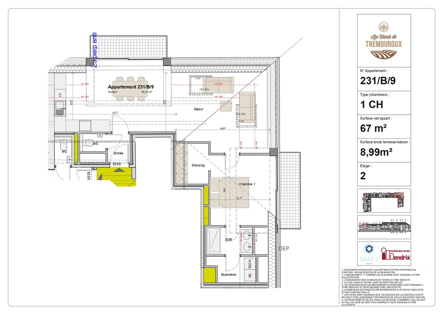 Appartement - Perwez - #4308180-0