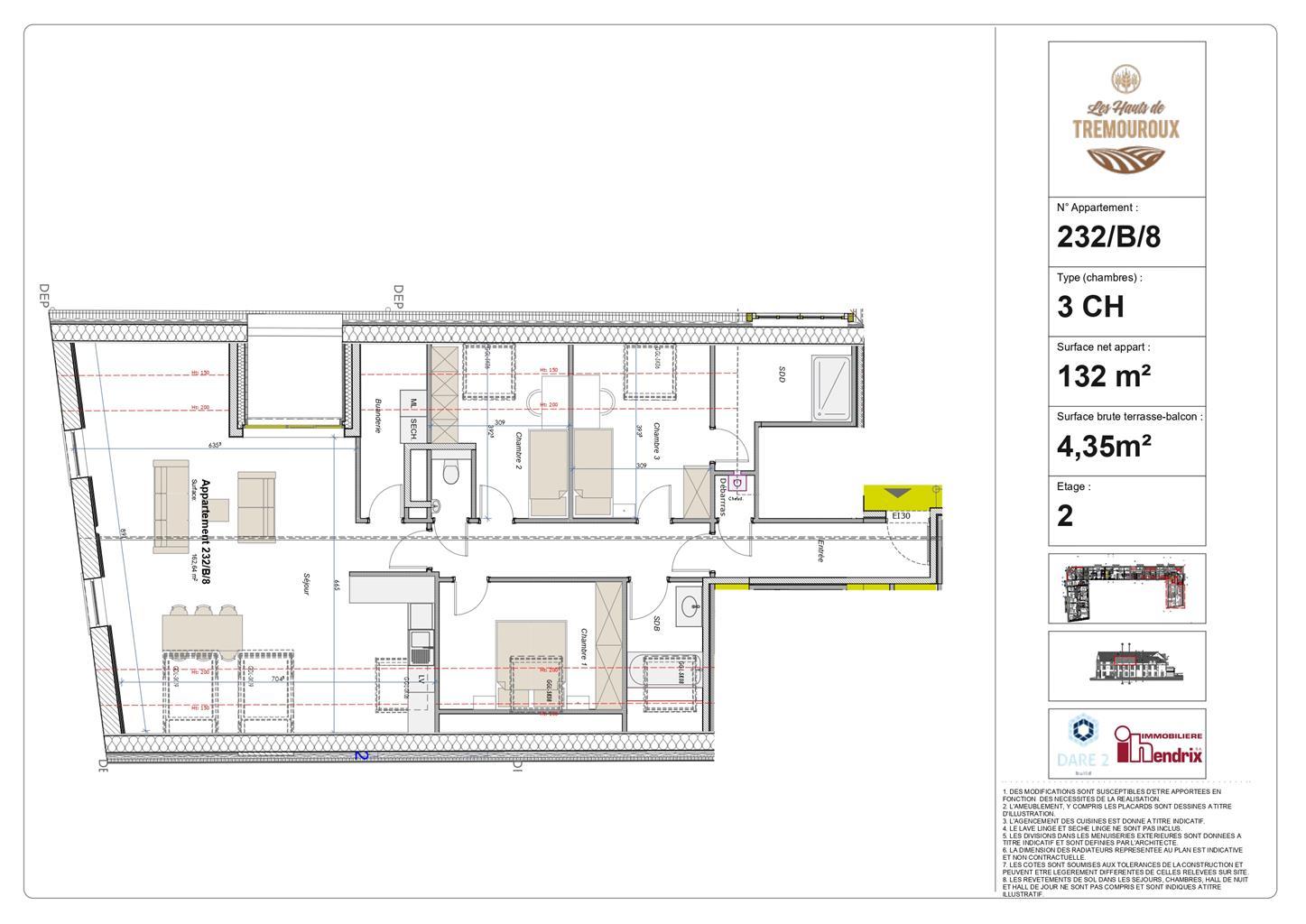 Appartement - Perwez - #4308182-0