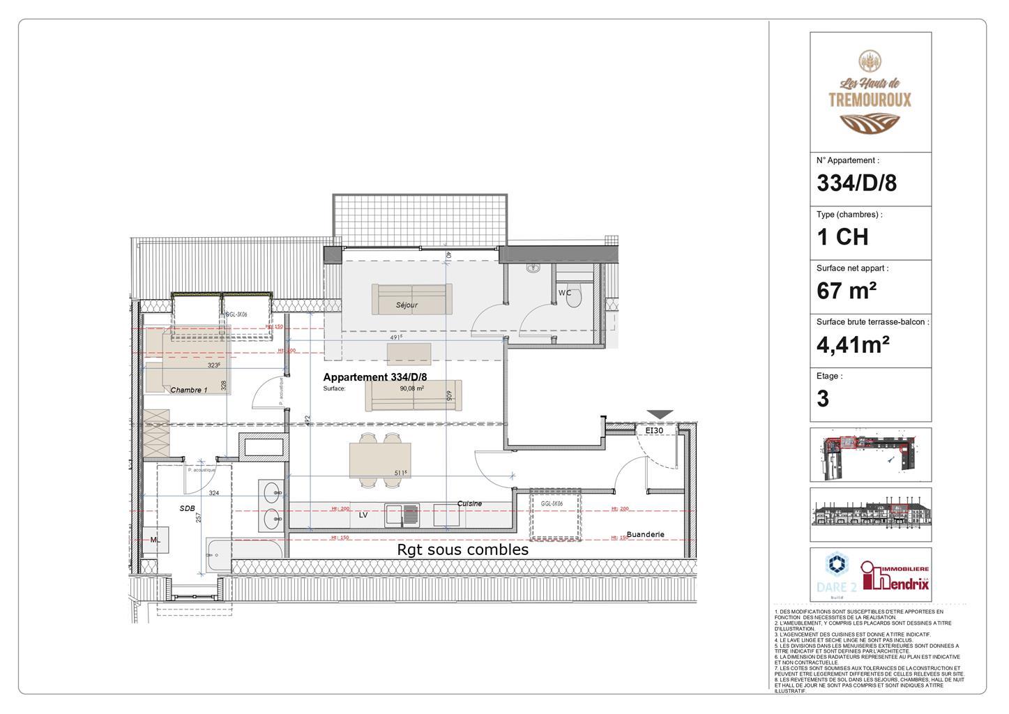 Appartement - Perwez - #4308193-0