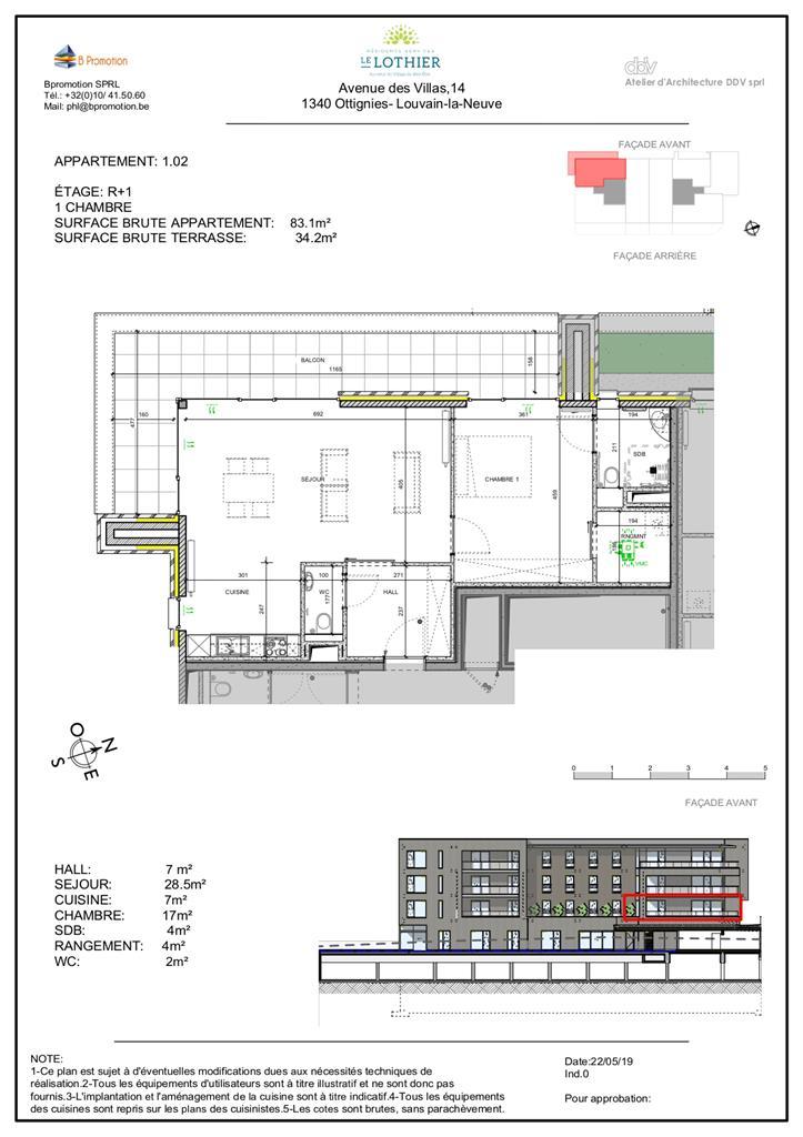 Appartement - Ottignies-Louvain-la-Neuve - #4406699-2