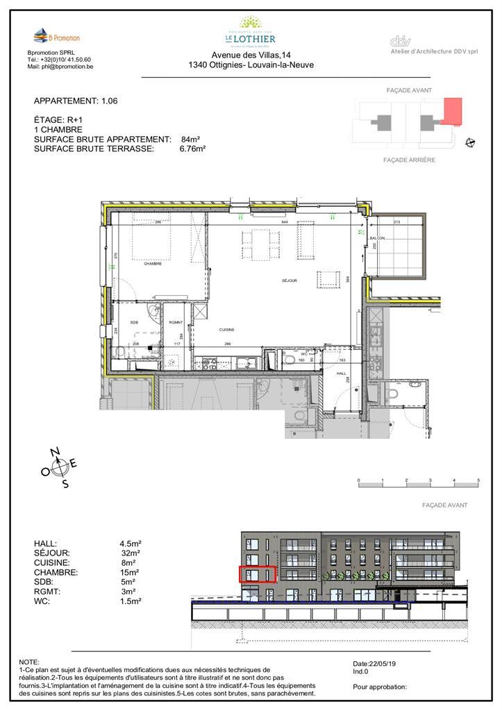 Appartement - Ottignies-Louvain-la-Neuve - #4406827-2