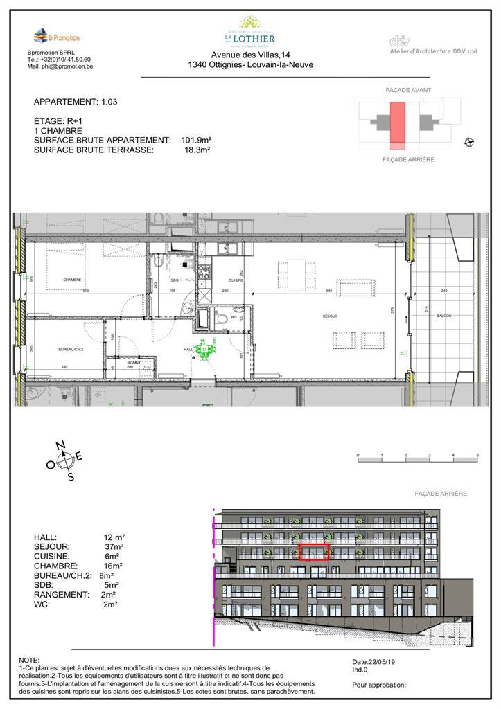 Appartement - Ottignies-Louvain-la-Neuve - #4406828-2