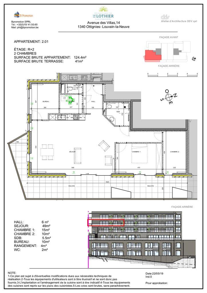 Appartement - Ottignies-Louvain-la-Neuve - #4406864-2